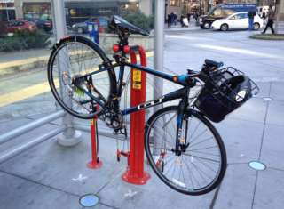 commute Seattle bike fix it stand