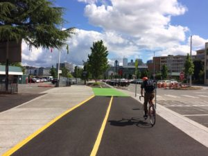 Westlake cycle track photo