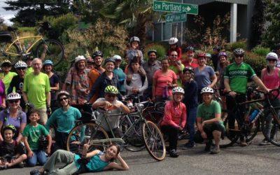 West Seattle Bike Connections' Bike Everywhere Day Celebration Station Under the Bridge